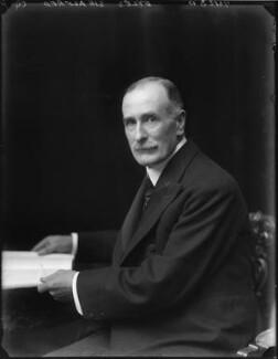 Sir Alfred Eyles, by Walter Stoneman - NPG x65565