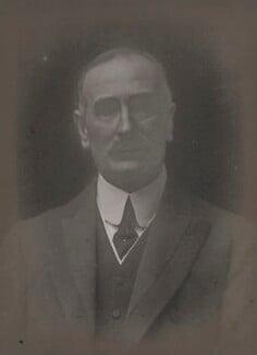 Sir Alfred Eyles, by Walter Stoneman - NPG x65566