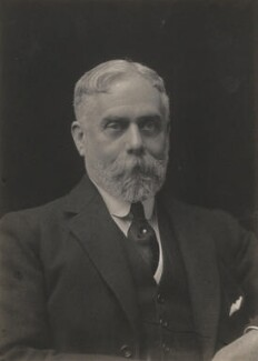 Sir (Horatio) Gilbert George Parker, 1st Bt, by Walter Stoneman - NPG x65698