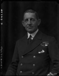 Sir William Edmund Goodenough, by Walter Stoneman - NPG x65810
