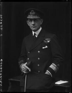 Sir William Edmund Goodenough, by Walter Stoneman - NPG x65811