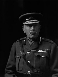 Gavin Campbell, 1st Marquess of Breadalbane, by Walter Stoneman - NPG x65908