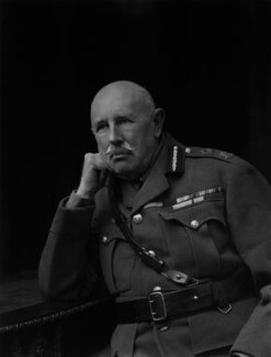 Gavin Campbell, 1st Marquess of Breadalbane, by Walter Stoneman - NPG x65909