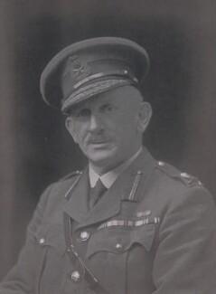 Sir Philip Geoffrey Twining, by Walter Stoneman - NPG x65963