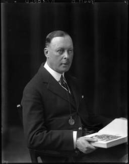 Sir Horace George Montagu Rumbold, 9th Bt, by Walter Stoneman - NPG x65966