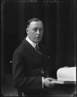 Sir Horace George Montagu Rumbold, 9th Bt, by Walter Stoneman - NPG x65967