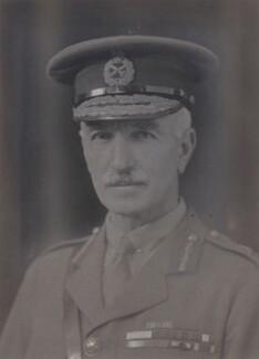 Sir William Marshall, by Walter Stoneman, 1919 - NPG x66153 - © National Portrait Gallery, London