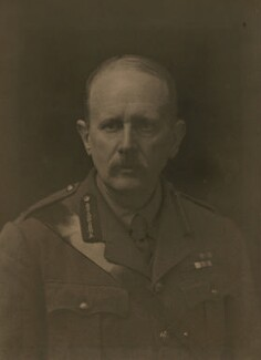 Sir James Edward Edmonds, by Walter Stoneman - NPG x66158