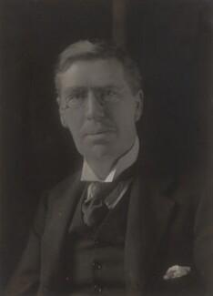 Sir (Charles) Edward Troup, by Walter Stoneman - NPG x66204