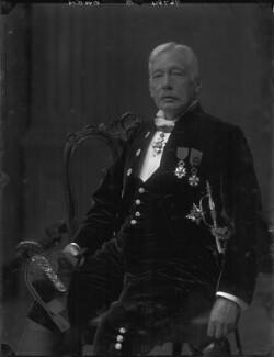 Sir Douglas Owen, by Walter Stoneman - NPG x66342