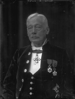 Sir Douglas Owen, by Walter Stoneman - NPG x66343