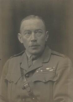 Henry Albermarle Vernon, by Walter Stoneman - NPG x66374