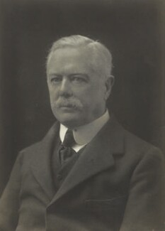 Alban George Henry Gibbs, 2nd Baron Aldenham, by Walter Stoneman, 1919 - NPG x66475 - © National Portrait Gallery, London