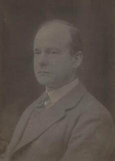 Sir Maurice Bonham-Carter, by Walter Stoneman, 1920 - NPG x66589 - © National Portrait Gallery, London