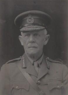 Sir Edward Raban, by Walter Stoneman - NPG x66622