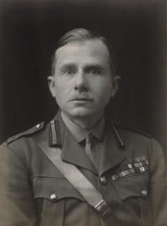 Sir Wilfred William Ogilvy Beveridge, by Walter Stoneman - NPG x66683