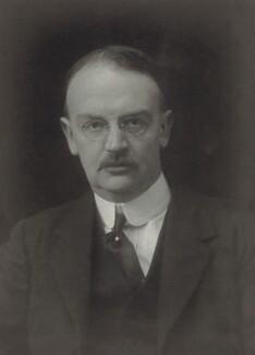 Sir George Lewis Barstow, by Walter Stoneman - NPG x66687