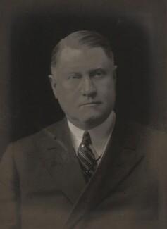 Sir Henry Worth Thornton, by Walter Stoneman - NPG x66704