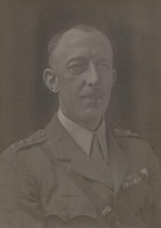 Sir Edward Ion Beresford Grogan, 2nd Bt, by Walter Stoneman - NPG x66820