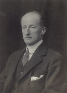 Sir Patrick Dalreagle Agnew, by Walter Stoneman, 1920 - NPG x66838 - © National Portrait Gallery, London