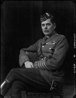 Hugh Montague Trenchard, 1st Viscount Trenchard, by Walter Stoneman - NPG x66882