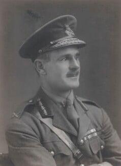 Archibald Percival Wavell, 1st Earl Wavell, by Walter Stoneman - NPG x66888