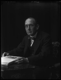 Sir Alexander Gibb, by Walter Stoneman - NPG x67018