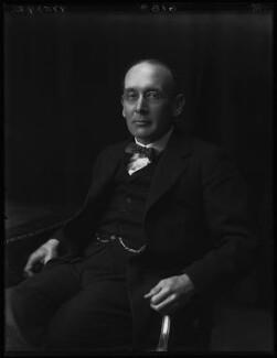Sir Alexander Gibb, by Walter Stoneman - NPG x67019