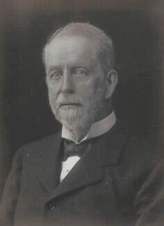Lord George Francis Hamilton, by Walter Stoneman - NPG x67034