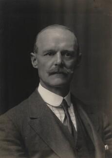 Henry John Philip Sidney Roper-Curzon, 18th Baron Teynham, by Walter Stoneman - NPG x67080