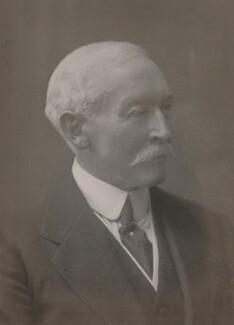 Sir George Charles Vincent Holmes, by Walter Stoneman - NPG x67118