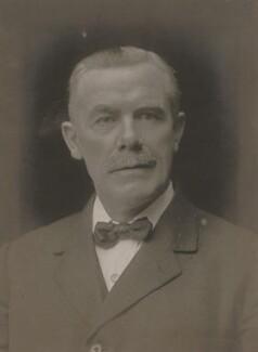 William Adamson, by Walter Stoneman, 1920 - NPG x67175 - © National Portrait Gallery, London
