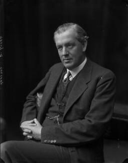Sir Arthur Colefax, by Walter Stoneman - NPG x67176