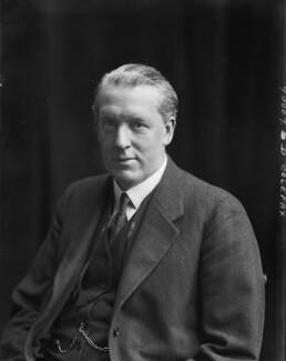 Sir Arthur Colefax, by Walter Stoneman - NPG x67177