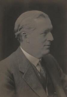 Sir Arthur Colefax, by Walter Stoneman - NPG x67178