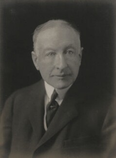 Francis Dudley Leigh, 3rd Baron Leigh, by Walter Stoneman - NPG x67455
