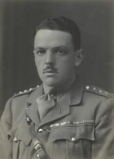 David Lyulph Gore Wolseley Ogilvy, 12th Earl of Airlie, by Walter Stoneman - NPG x67470