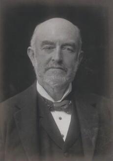 Sir George Renwick, 1st Bt, by Walter Stoneman - NPG x67539