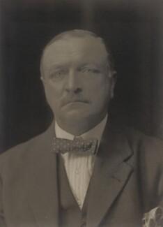 Sir Park Goff, 1st Bt, by Walter Stoneman - NPG x67557