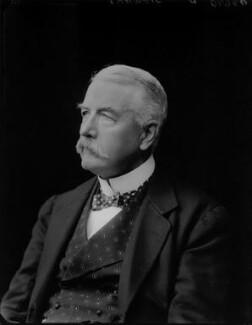 Sir Gershom Stewart, by Walter Stoneman - NPG x67563