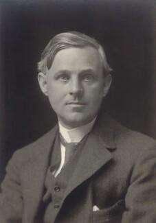 Sir Leonard Bairstow, by Walter Stoneman - NPG x67655