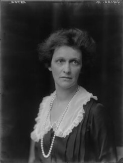 Nancy Astor, Viscountess Astor, by Walter Stoneman - NPG x67797