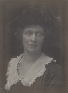 Nancy Astor, Viscountess Astor, by Walter Stoneman, 1921 - NPG x67800 - © National Portrait Gallery, London