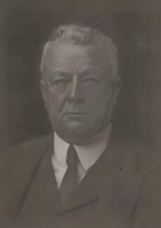 Sir Abe Bailey, 1st Bt, by Walter Stoneman, 1921 - NPG x67854 - © National Portrait Gallery, London