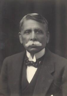 Saiyid Ameer Ali, by Walter Stoneman, 1917 - NPG x67935 - © National Portrait Gallery, London