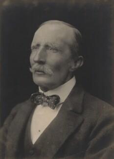 Sir George Dashwood Taubman Goldie, by Walter Stoneman - NPG x67975