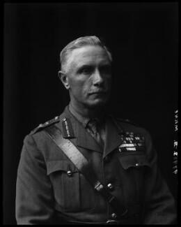George Francis Milne, 1st Baron Milne, by Walter Stoneman - NPG x74875