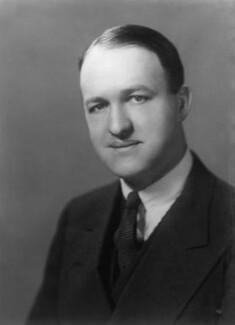 Richard Austen ('Rab') Butler, 1st Baron Butler of Saffron Walden, by Elliott & Fry, December 1934 - NPG x81854 - © National Portrait Gallery, London