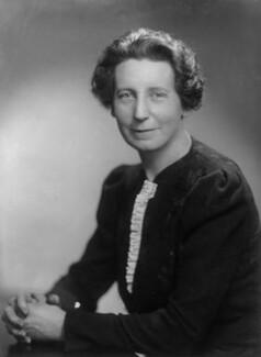 Florence Gertrude Horsbrugh, Baroness Horsbrugh, by Elliott & Fry - NPG x81858