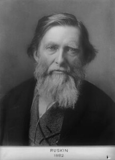 John Ruskin, by and after Elliott & Fry - NPG x81995